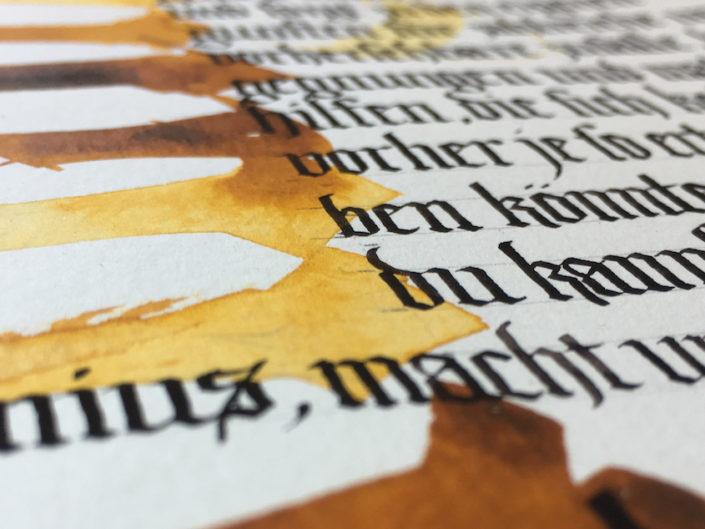 Gotische Eleganz :: Textura schreiben – Onlinekurs