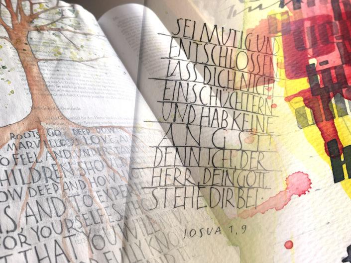 Schriftenteppiche – Geschriebene Meditationen | Onlinekurs